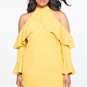 Dresses & Skirts - Mustard yellow dress